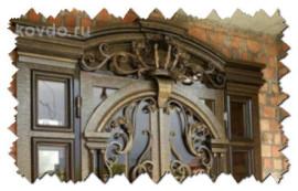 Кованые двери в Чечне