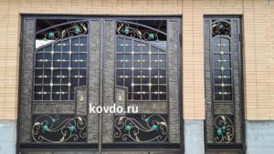 откатные ворота, шерипов нурмагомед исаевич, кованые ворота в Нальчике, ковка в Дагестане