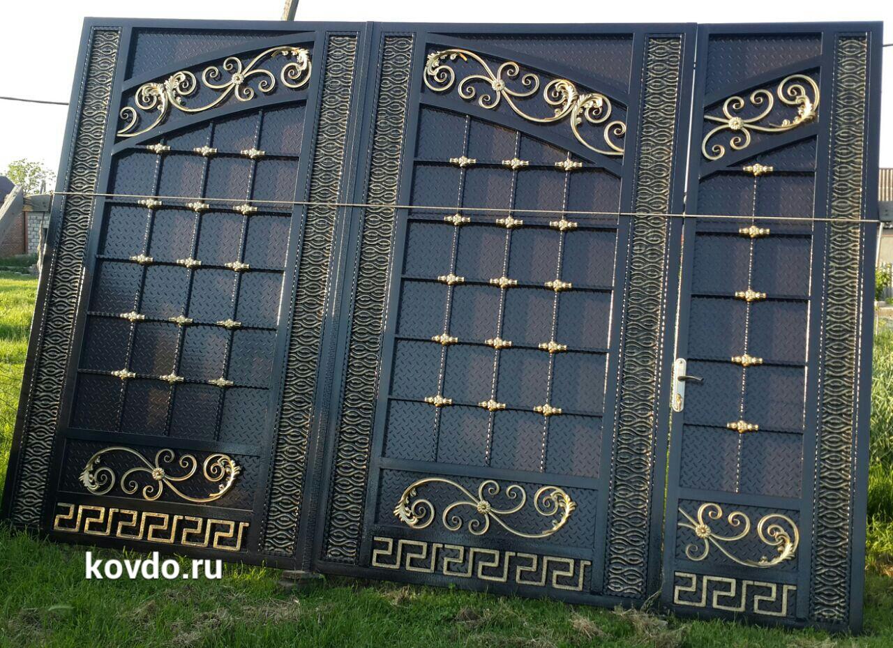 Откатные ворота делаем в Москве